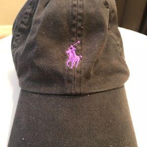 a803b9bd23c Polo by Ralph Lauren Accessories - TCU Black Ralph Lauren Polo Hat
